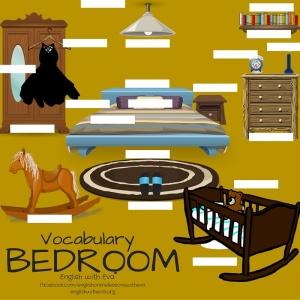 Vocabulary- Bedroom Activity