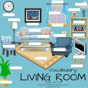 Vocabulary-LIVING ROOM Activity