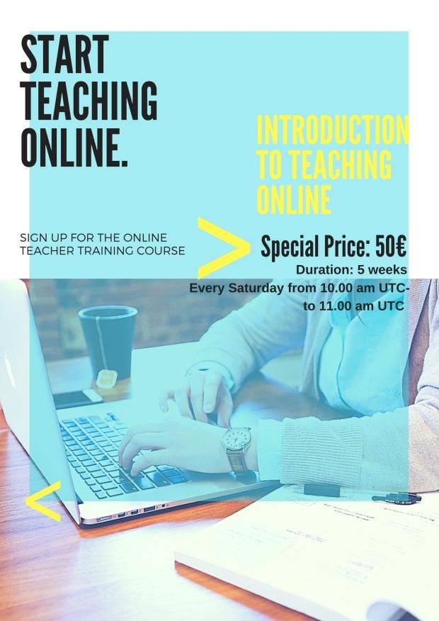 start teaching online. (1)